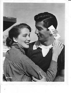 Julie Adams and Ray Danton