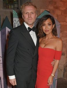 Myleene Klass and Simon Motson