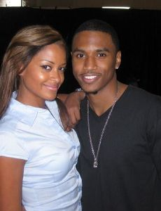 Claudia Jordan and Trey Songz