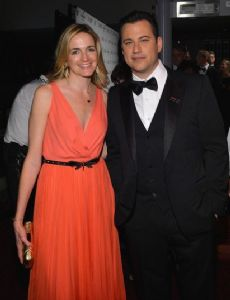Jimmy Kimmel and Gina Kimmel