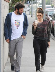 Marisa Tomei and Josh Radnor