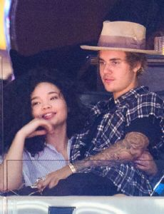 Justin Bieber and Ashley Moore
