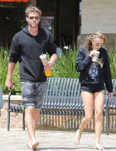 Liam Hemsworth and Maika Monroe