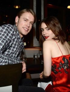 chris colfer dating list