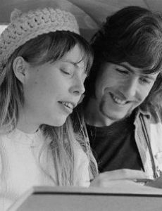 Joni Mitchell and Graham Nash