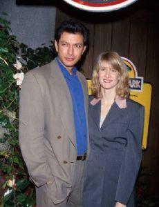 Jeff Goldblum and Laura Dern