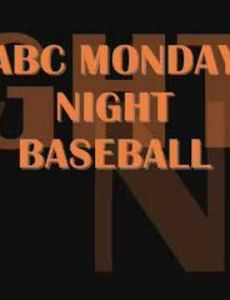 Monday Night Baseball