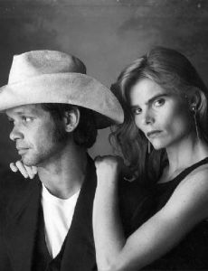 John Mellencamp with ex-girlfriend Mariel Hemingway