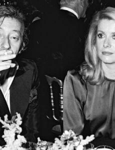 Serge Gainsbourg and Catherine Deneuve