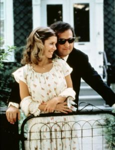 Carrie Fisher and John Belushi