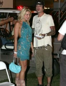 Tommy Lee and Aja Rock