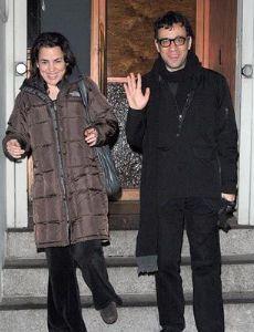 Fred Armisen and Petra Haden
