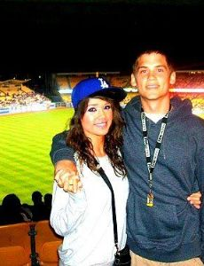 Nicole Gale Anderson and Tony Oller
