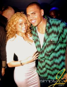 Simply Jess and Chris Brown