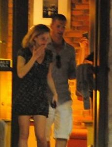 Emma Watson and Angus Willoughby