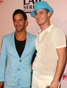 Austin Armacost and Marc Jacobs
