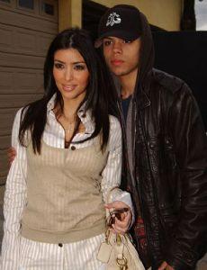 Kim Kardashian and Evan Ross