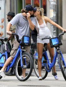 Leonardo DiCaprio and Kelly Rohrbach