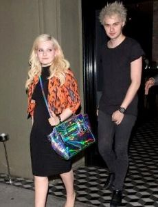 Michael Clifford and Abigail Breslin