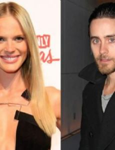 Jared Leto and Anne Vyalitsyna