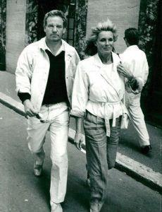 Richard Cohen and Linda Evans