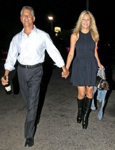 Heather Locklear and Larry Porush