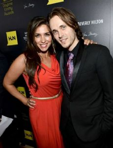 Jonathan Jackson and Lisa Vultaggio