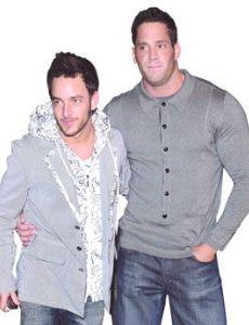 Erik Rhodes and Jason Preston