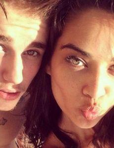 Justin Bieber and Shanina Shaik