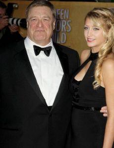 Annabeth Hartzog and John Goodman