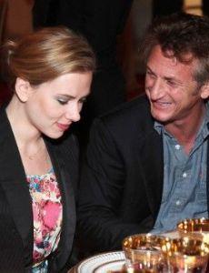 Sean Penn and Scarlett Johansson