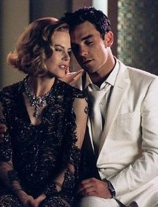 Nicole Kidman and Robbie Williams