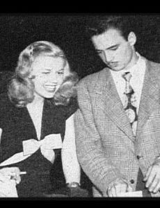 Doris Day and George Weidler