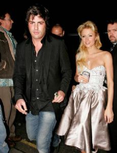 Paris Hilton and Brandon Jack James