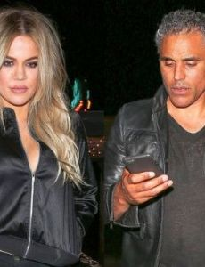 Khloé Kardashian and Rick Fox