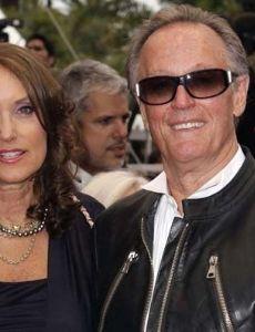 Peter Fonda and Portia Rebecca Crockett