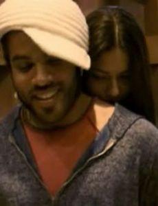 Adriana Lima and Lenny Kravitz