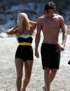 Paris Hilton and Lucas Babin