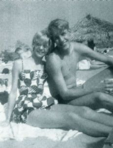 Goldie Hawn und Richard Harfield