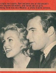 Burt Reynolds and Asa Maynor