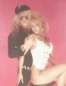 Bret Michaels and Tracy Crosby