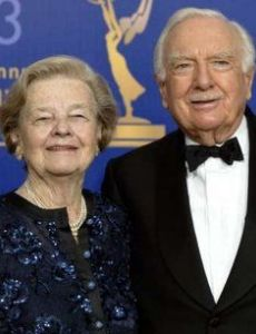 Walter Cronkite and Betsy Maxwell