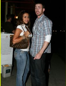 Chris Evans and Vida Guerra