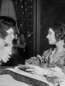 Margaret Barker and Katharine Hepburn