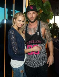 Calum Best and Ianthe Rose Cochrane-Stack