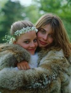 Nastassja Kinski and Jodie Foster