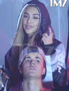 Justin Bieber and Chantel Jeffries