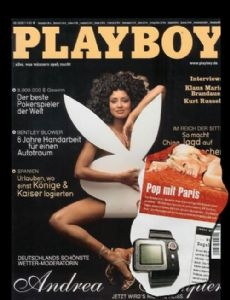 Playboy Magazine [Germany]