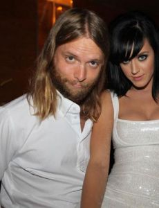 Katy Perry and James Valentine
