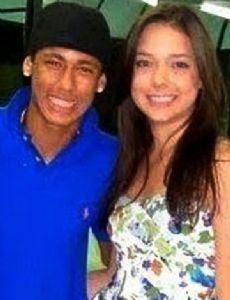 Neymar Júnior and Carolina Nogueira Dantas